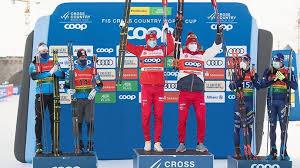 Большунов и Ретивых выиграли командный спринт на этапе Кубка мира