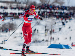 Российские лыжники заняли весь пьедестал в гонке на 15 км на этапе КМ