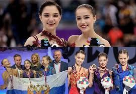 Загитова и Медведева буду капитанами команд на Кубке Первого канала