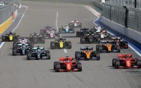 Этап «Формулы-1» в Сочи пройдет с 24 по 26 сентября
