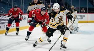 «Вашингтон» уступил «Бостону» в матче НХЛ, ведя в счете 3:0