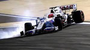 Появилась видеозапись аварии Мазепина на Гран-при Бахрейна