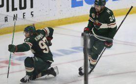 Седьмой гол Капризова в сезоне помог «Миннесоте» обыграть «Вегас» в НХЛ