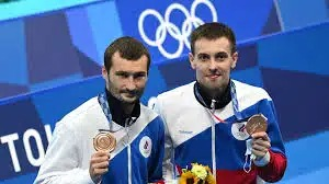 Бондарь и Минибаев выиграли бронзу Олимпиады в синхронных прыжках с вышки