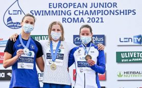 Вологодская спортсменка взяла золото на чемпионате Европы по плаванию