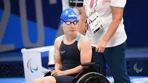 Буткова завоевала серебряную медаль Паралимпиады на 50-метровке брассом