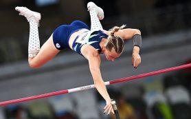 Сидорова стала серебряным призером Игр-2020 в прыжках с шестом