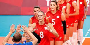 Женская сборная России по волейболу занимает восьмое место в рейтинге FIVB