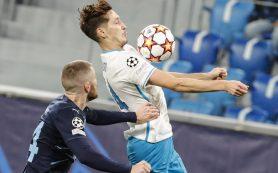 «Зенит» обыграл «Мальме» в Лиге чемпионов по футболу