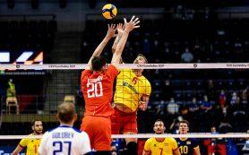 Российские волейболисты гарантировали себе выход в плей-офф ЧЕ