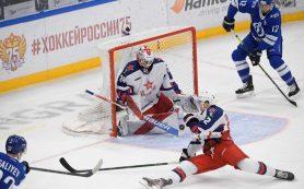 ЦСКА победил столичное «Динамо» в матче КХЛ